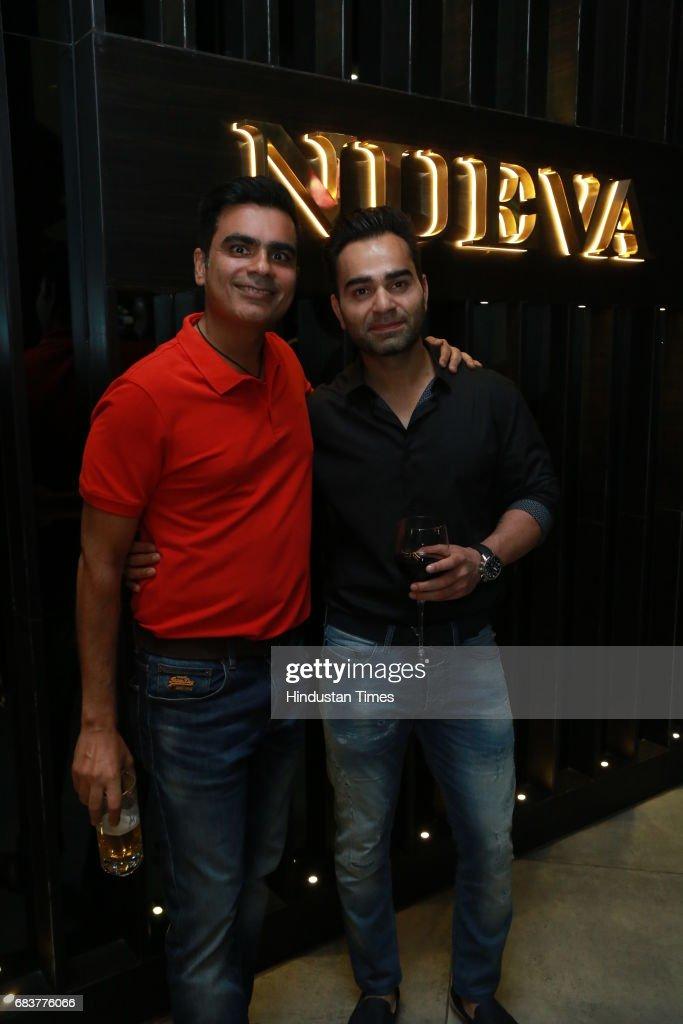 Vikas Kohli Brother Of Virat Kohli With Vikrant Batra