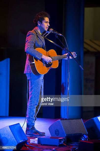 Vikesh Kapoor performs on stage at Foyer del Gran Teatre del Liceu on November 21 2015 in Barcelona Spain