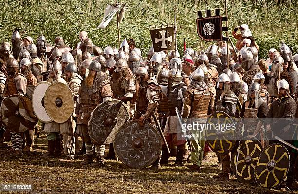 Viking battle in Wolin, Poland