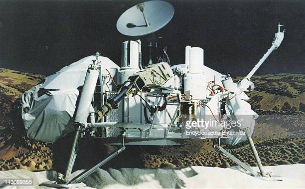 Viking Lander A Viking Lander Photographed On Earth In Its Deployed Configuration