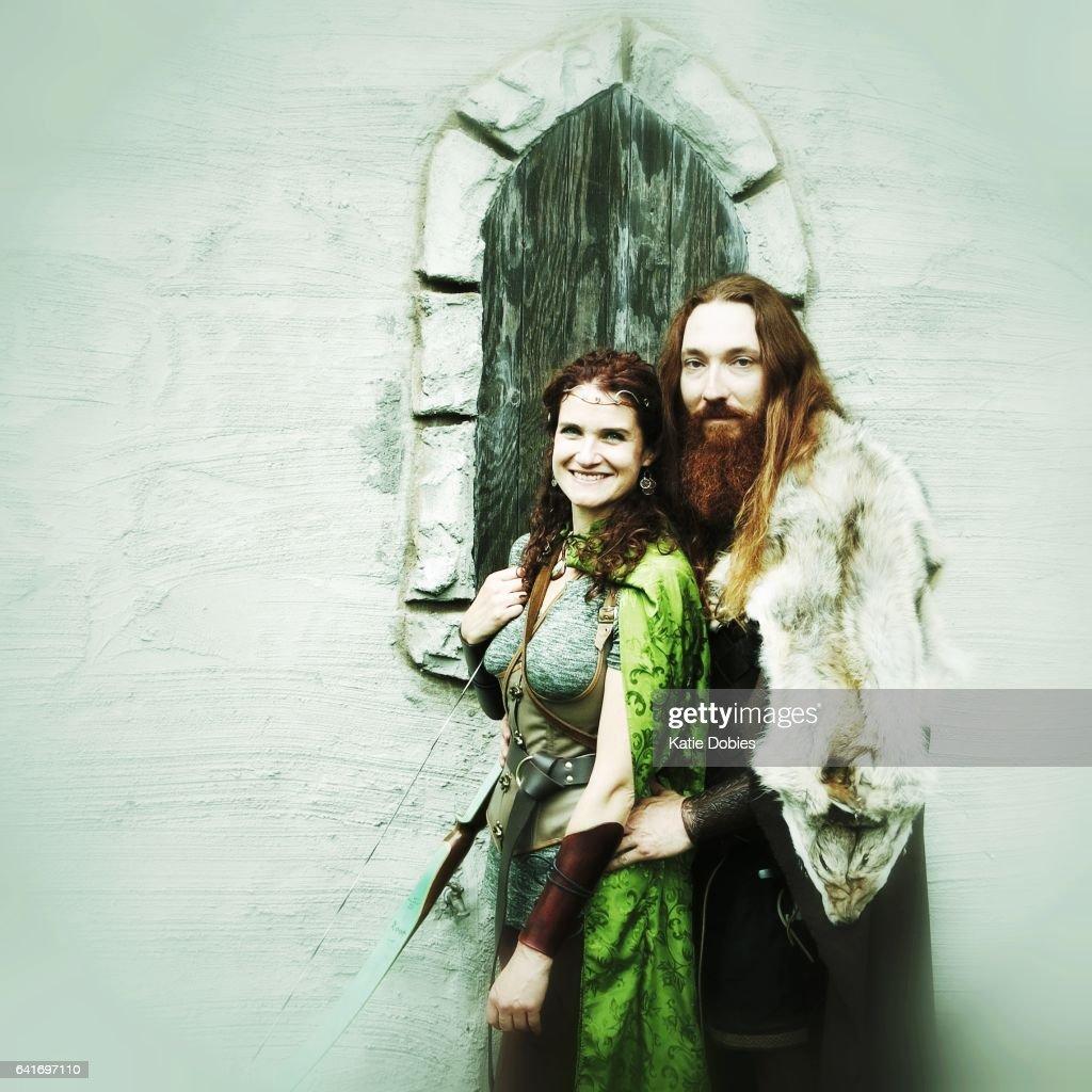 Wikinger Nordische Mittelalterlichen Mythologie Krieger Weibliche