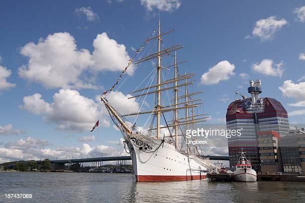 Viking sailing ship, Gothenburg