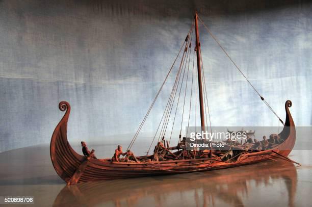 Viking ship Stockholm museum, Sweden