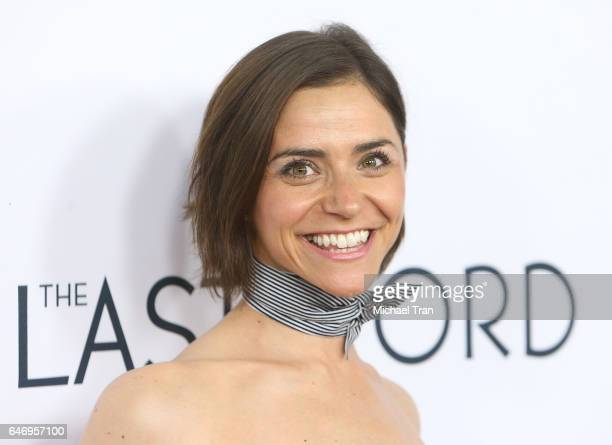 Vikki Krinsky arrives at the Los Angeles premiere of The Last Word held at ArcLight Hollywood on March 1 2017 in Hollywood California