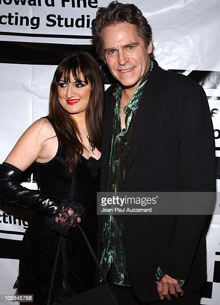 Vikki Lizzi and Jeff Conaway during Ball of Fire Holiday Party Benefiting Project Angel Food at Boardner's in Hollywood California United States