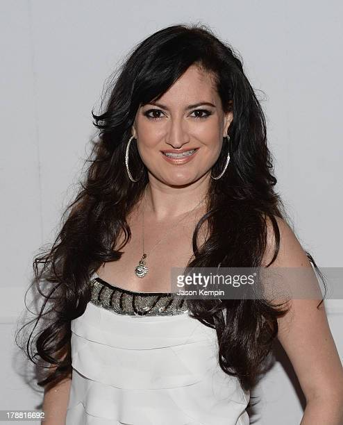Vikki Lizzi attends the Make A Film Foundation's ComedyCon 2013 Fundraiser at The Comedy Store on August 30 2013 in West Hollywood California