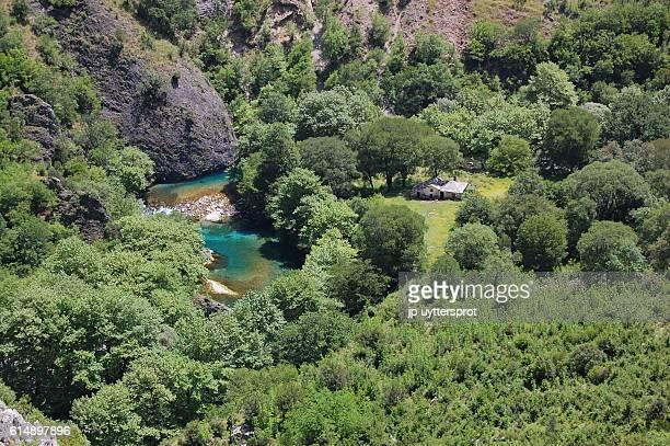 vikos gorge, greece - epirus greece stock pictures, royalty-free photos & images