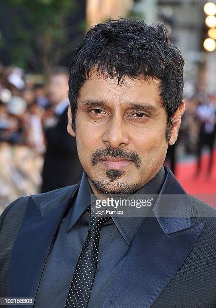 Vikram arrives at the London premiere of Raavan at BFI Southbank on June 16 2010 in London England