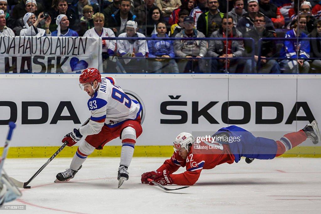 Russia v Norway - 2015 IIHF Ice Hockey World Championship