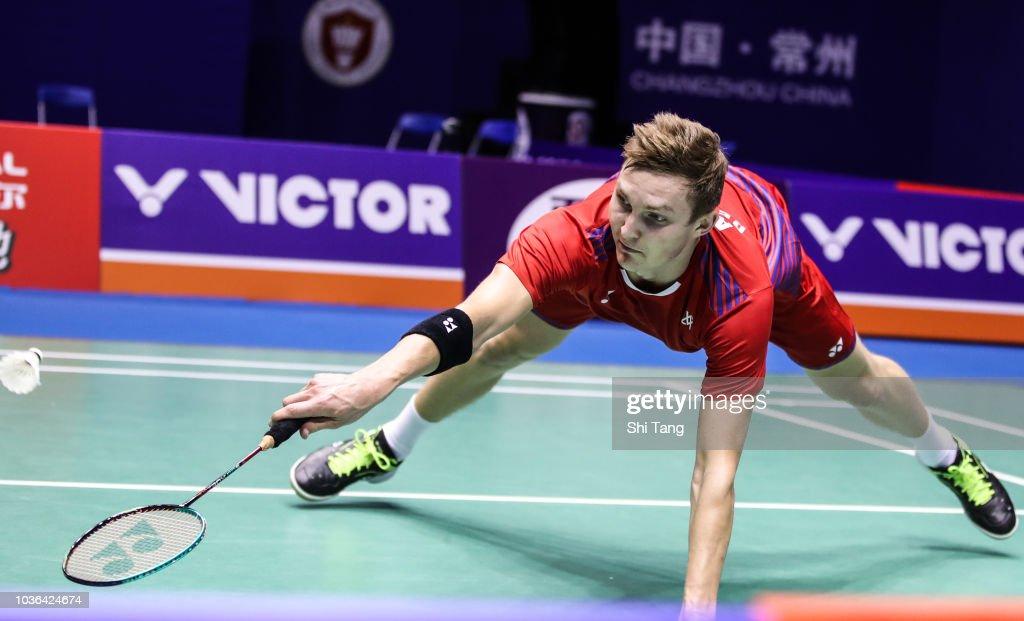 2018 China Open Badminton - Day Three : Foto jornalística