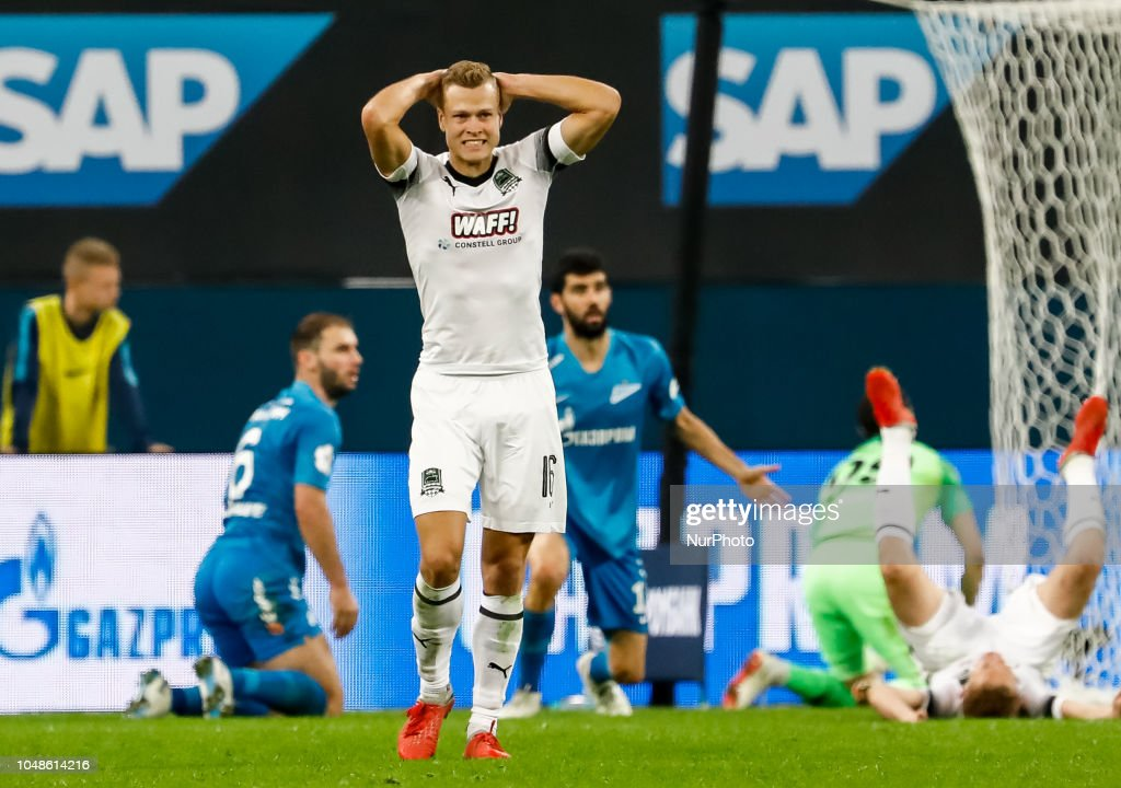 FC Zenit Saint Petersburg vs FC Krasnodar - Russian Premier League : News Photo