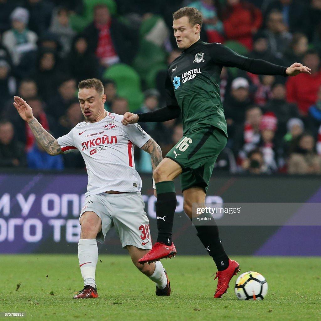 FC Krasnodar vs FC Spartak Moscow - Russian Premier League : News Photo