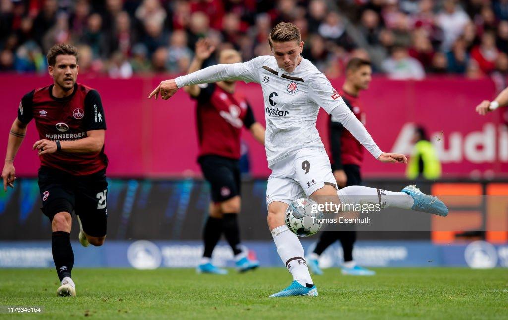 1. FC Nürnberg v FC St. Pauli - Second Bundesliga : ニュース写真