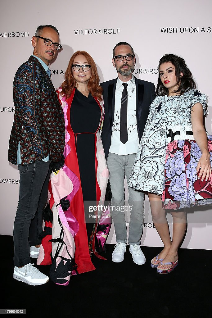 Viktor&Rolf FlowerBomb  Fragrance 10th Anniversary Party : Front Row - Paris Fashion Week - Haute Couture Fall/Winter 2015/2016