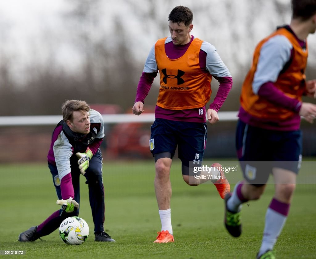 Aston Villa Training Session : News Photo