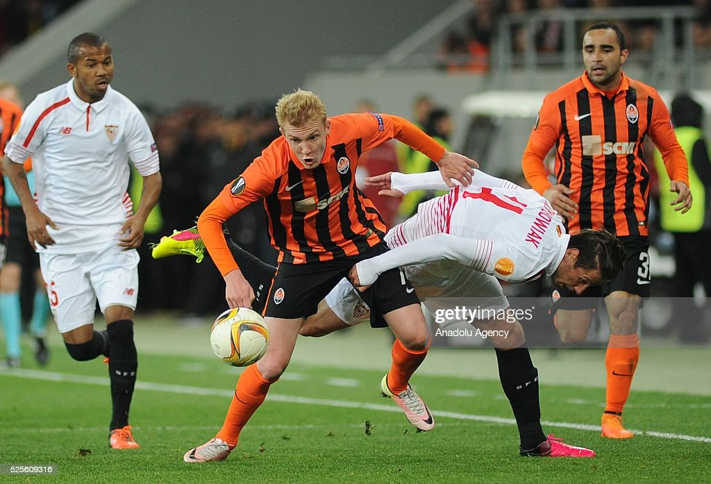 Shakhtar Donetsk v Sevilla FC - UEFA Europa League  : News Photo
