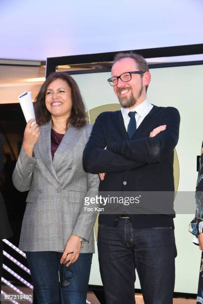 Viktor Lazlo and Stanislas Rigot attend the 'Le Prix Du Style 2017' Literary awards Hosted by BMW Obadia Stasi and Page des libraires at BMW Brand...