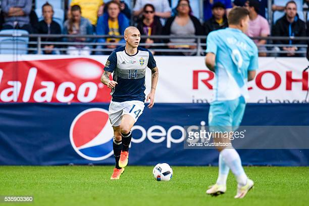 Viktor Nilsson lindelöf of Sweden during the international friendly match between Sweden and Slovenia May 30 2016 in Malmo Sweden