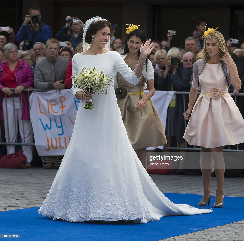 HRH Prince Jaime De Bourbon Parme Marries Viktoria Cservenyak : News Photo