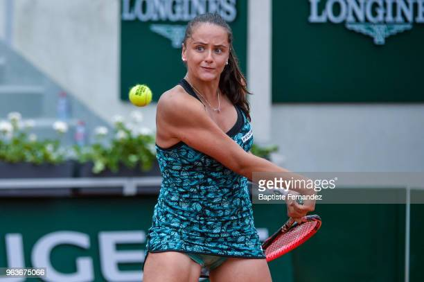 Viktoria Kuzmova of Slovakia during Day 4 for the French Open 2018 on May 30 2018 in Paris France