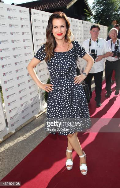 Viktoria Lauterbach attends the Kaiser Cup 2014 Gala on July 19 2014 in Bad Griesbach near Passau Germany