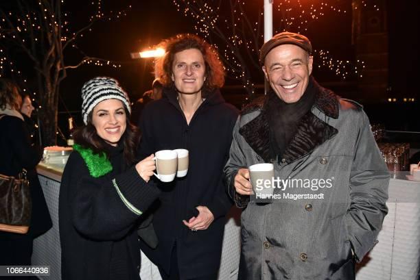 Viktoria Lauterbach Director of Bayerischer Hof Innegrit Volkhardt and actor Heiner Lauterbach attend the Polar Bar Opening at Hotel Bayerischer Hof...