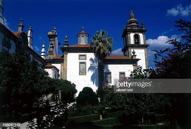 Vila Real `Solar de Mateus` Palast desGrafen von Mangualde Ziergärten 1997