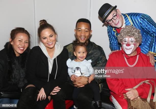 Vilailuck Teigen daughter Chrissy Teigen Legend husband John Legend daughter Luna Simone Stephens Joel Jessie as 'Mr Joel' and Barry Lubin as...