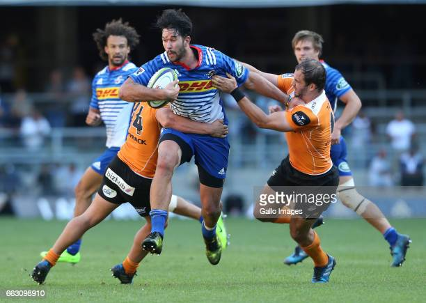 Viljoen of the Stormers during the Super Rugby match between DHL Stormers and Toyota Cheetahs at DHL Newlands Stadium on April 01 2017 in Cape Town...
