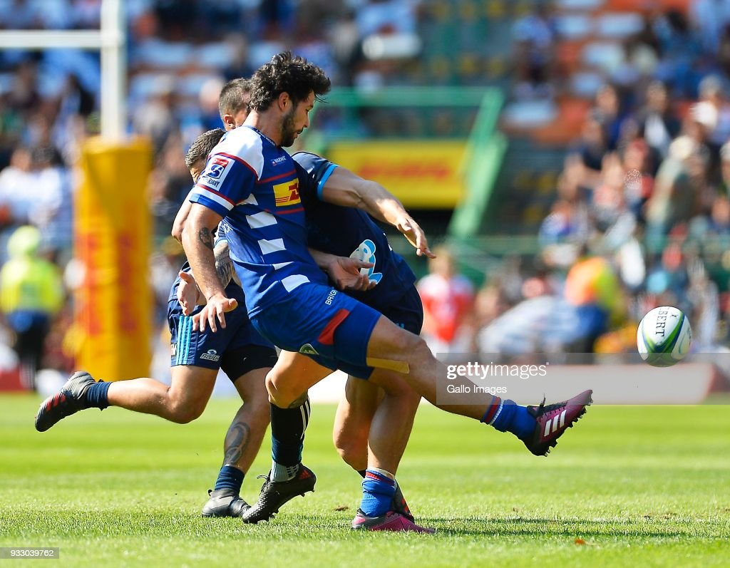 Super Rugby Rd 5 - Stormers v Blues : News Photo