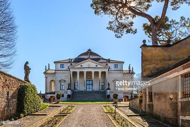villa almerico capra - la rotonda, vicenza - veneto stock pictures, royalty-free photos & images