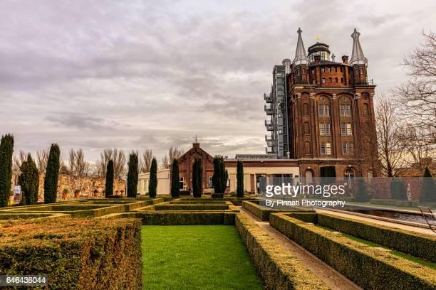 villa augusta, dordrecht, netherlands, famous restaurant and hotel - dordrecht stock pictures, royalty-free photos & images