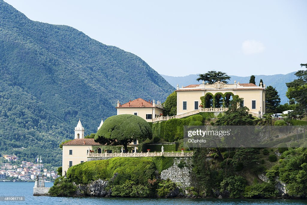 Villa Balbianello on Lake Como, Italy -XXXL : Stock Photo