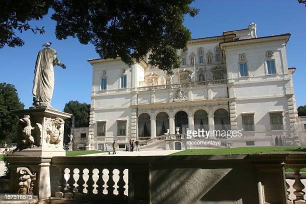 villa borghese - palazzo reale foto e immagini stock
