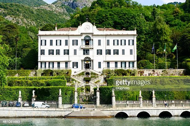 villa carlotta on the lake como, italy -xxxl - ogphoto stock pictures, royalty-free photos & images