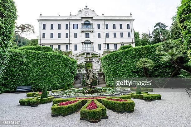 villa carlotta auf dem comer see, italien -xxxl - ogphoto stock-fotos und bilder