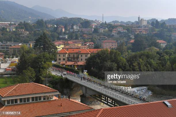 Villa D'Alme City / Landscape / Peloton / Bridge / during the 113th Il Lombardia 2019 a 243km race from Bergamo to Como / #ILombardia / @Il_Lombardia...