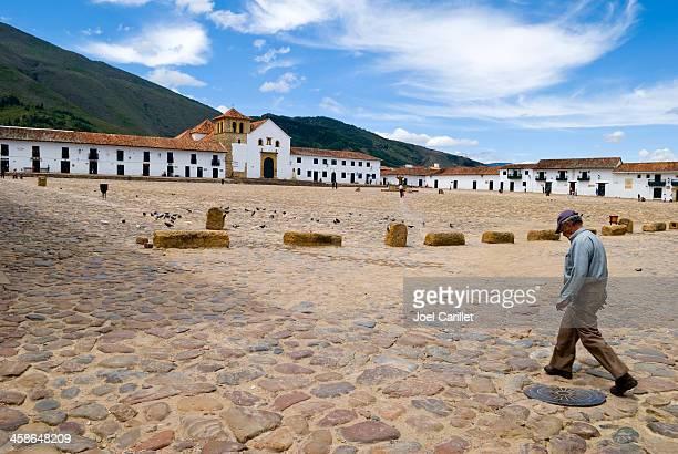 villa de leyva, colombia - villa de leyva fotografías e imágenes de stock