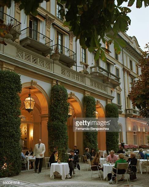 Villa d'Este: Alfresco Dining