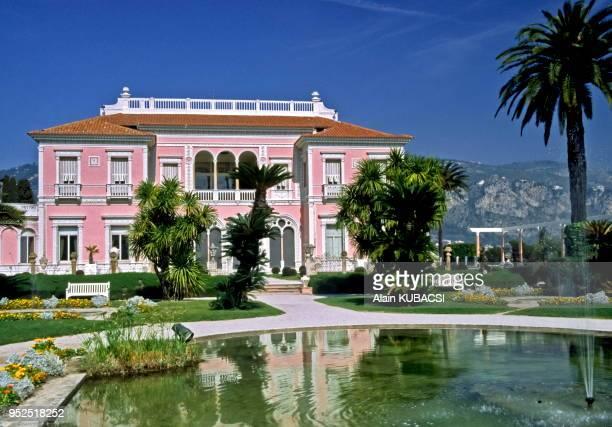 Villa Ephrussi de Rotschild, St Jean Cap Ferrat, Alpes Maritimes, France.