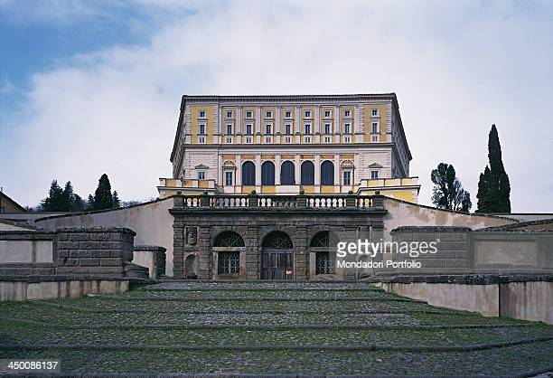Villa Farnese by Barozzi Jacopo known as Vignola 1550 1559 16th Century