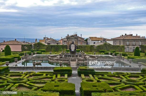 Villa Lante at Bagnaia is a mannerist garden of surprise near Viterbo attributed to Jacopo Barozzi da Vignola and built between 1511 and 1566...