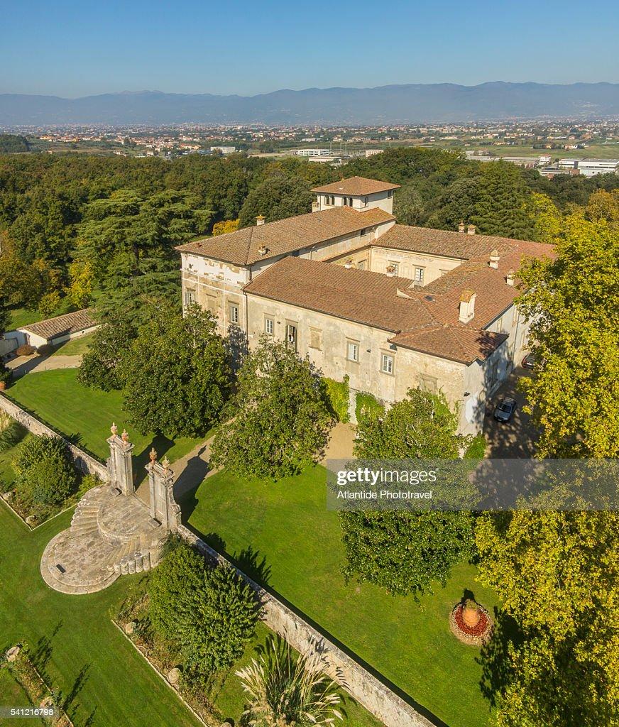 Villa Medicea La Magia : Stock Photo