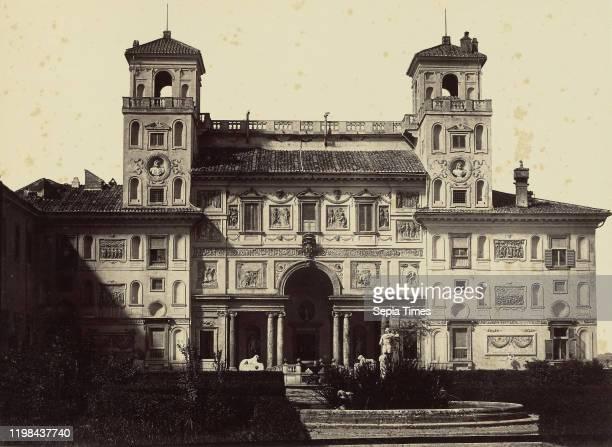 Villa Medici Rome Tommaso Cuccioni 1850 1859 Albumen silver print