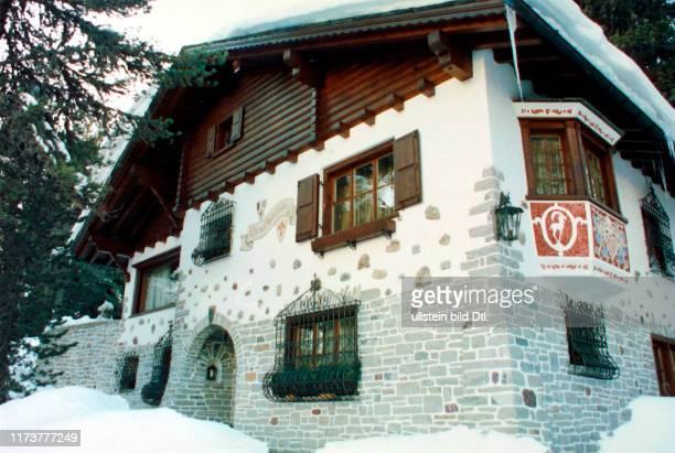 Villa of Maurizio Gucci in St Moritz 1997