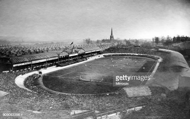 Villa Park football stadium, home to Aston Villa Football Club, 1907.