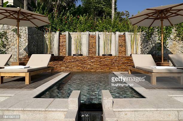 villa pool deck phuket