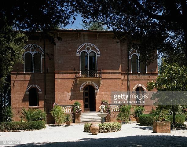 Villa Puccini the first house owned by the Italian composer Giacomo Puccini Chiatri Tuscany Italy