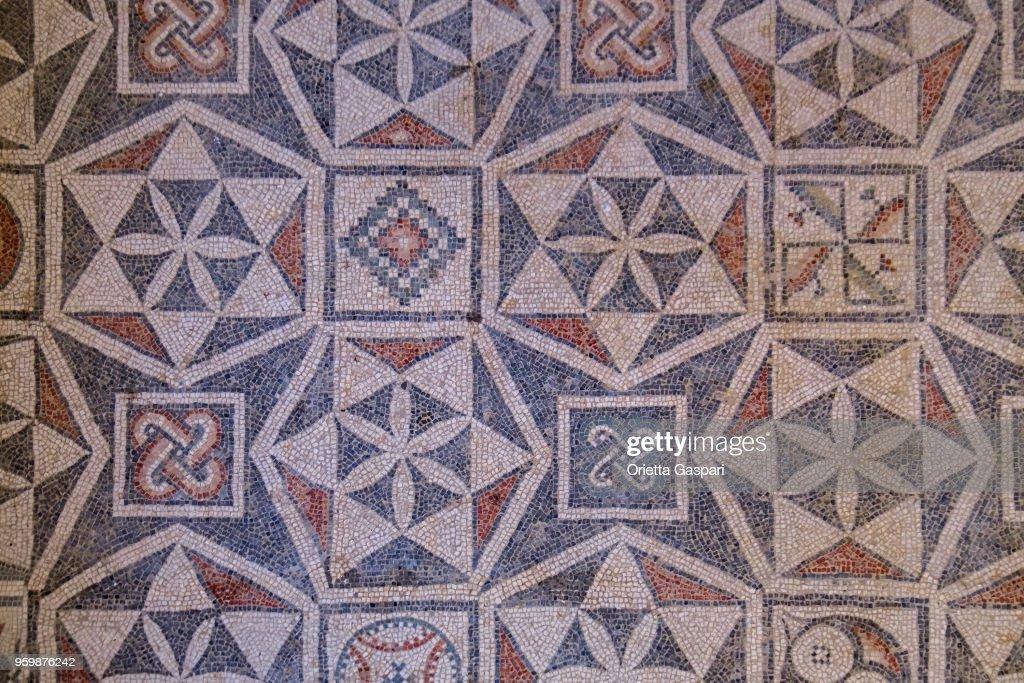 Villa Romana del Casale, Piazza Armerina (Sizilien, Italien) : Stock-Foto
