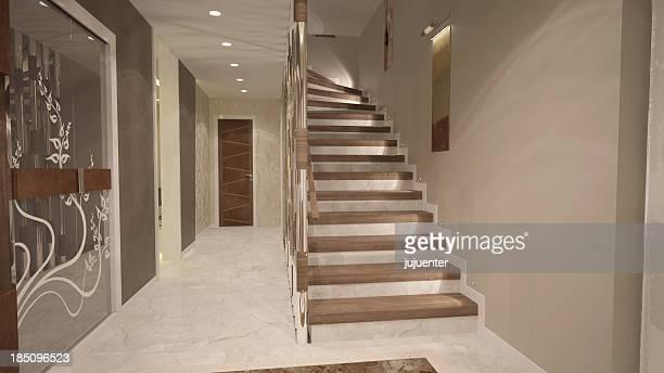 villa stairs
